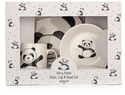 JELLYCAT | Harry panda schaal, beker en bord set