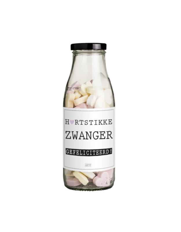 FLESSENWERK   Zwanger pepermunt