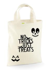 Halloween trick or treat tas 26x32.5cm