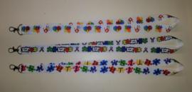 Keykoord met autisme awerness print