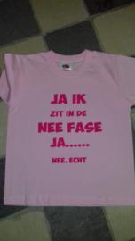 kinder t-shirt  NEE FASE