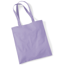 Katoenen tas (pastel kleuren)