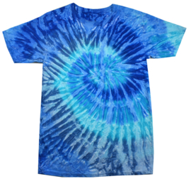 Tie-dye shirt (hippie shirt)