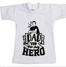 Mini shirt vaderdag