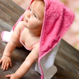 Babiezz™ Babycape geborduurd met Naam evt. geb. Datum