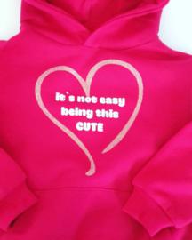 B&C kinder hoodie maat 98-104