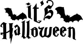 Statische raamfolie Halloween editie