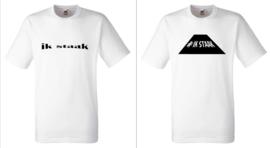Ik staak (Heren) shirt/longsleeve/hoodie