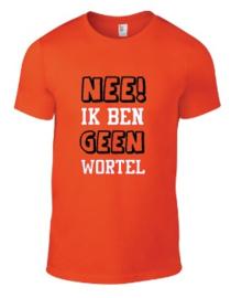 oranje shirt # NEE IK BEN GEEN WORTEL