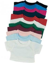 Mini shirt voor knuffel - Teddie t-shirt