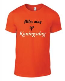 oranje shirt  (koningsdag)