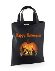 Halloween trick or treat tas 26x32.5cm  Div. prints