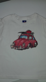 t-shirt met vw kever (kind)