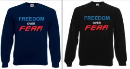 #Vrijheid boven angst