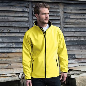 softshell jas (2 laags) Heren
