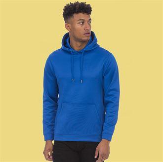 AWDis Sport hoodie Blauw