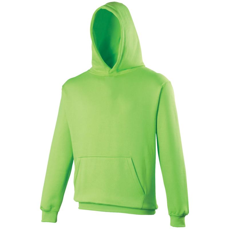 Electric hoodie groen