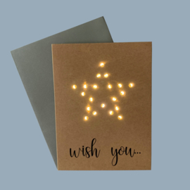 Kaart Wish You Star