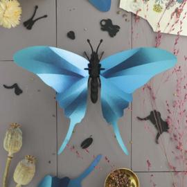 Papieren 3D Swordtail Vlinder