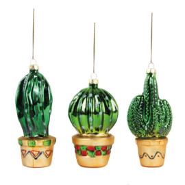 Kerstballen Cactus