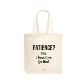 Tote Bag Patience