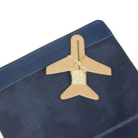 Paspoorthoesje Stitch Donkerblauw