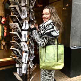 Shopper Teak Leaf