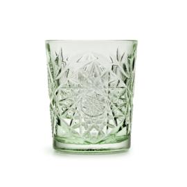Hobstar Glas Ebony Green