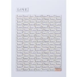 Räder Kaart Love Loving Loved