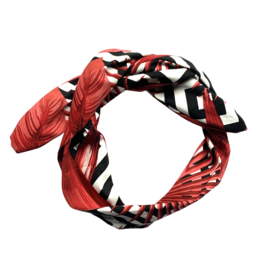 Haarband Red Stripes
