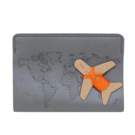 Paspoorthoesje Stitch Antracietgrijs