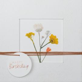 Räder Kaart Happy Birthday Flower Bunch