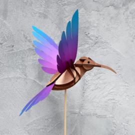 Papieren 3D Kolibrie
