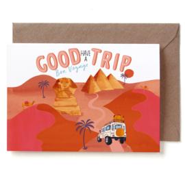 Reddish Design Kaart Good Trip