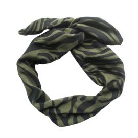 Haarband Tiger Green