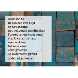 Kaart Zee Van Tijd