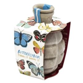 Flower Bom Butterfly