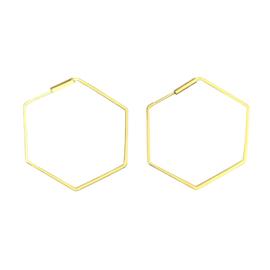 Oorbellen Hexagon