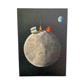 Kaart Camping Op De Maan
