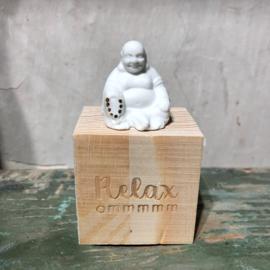Räder Porselein Geluksdoosje Relax Buddha