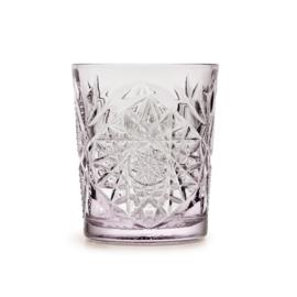 Hobstar Glas Charm Lavender