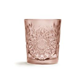Hobstar Glas Rose