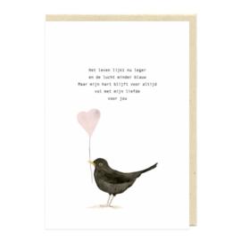 Eva en Lies Kaart Liefde