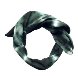 Haarband Tie Dye Groen