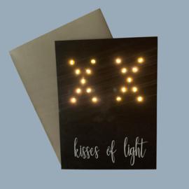 Kaart Kisses Of Light XX
