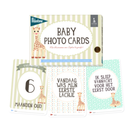 Milestone® Baby Photo Cards - Sophie la girafe