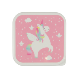 Lunchbox / snack doosje 'Unicorn'