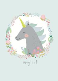 Aless Baylis Kaart 'Magical Eenhoorn'