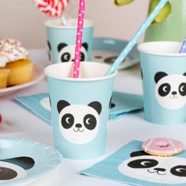 Miko the Panda - Papieren beker ( set van 8 )