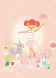 Poster A4 Sara Brezzi 'Ballerina'